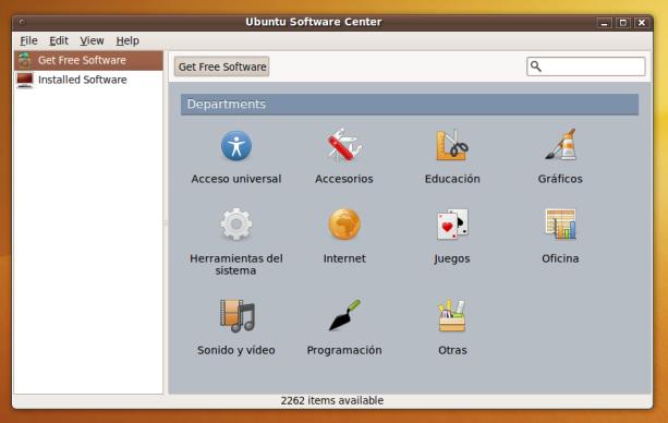 UbuSoftware Center