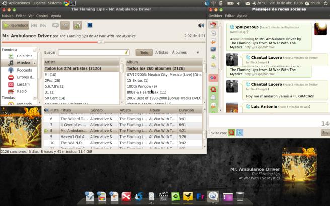 despues de instalar ubuntu 10.10